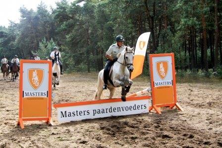 Militaire Prestatietocht Te Paard Masters Diervoeders